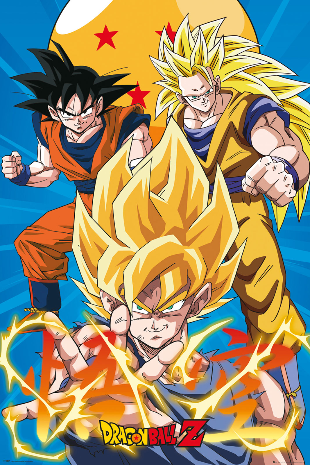 Plakaty Filmowe Dragon Ball Z Songo Goku Super Saiyanin