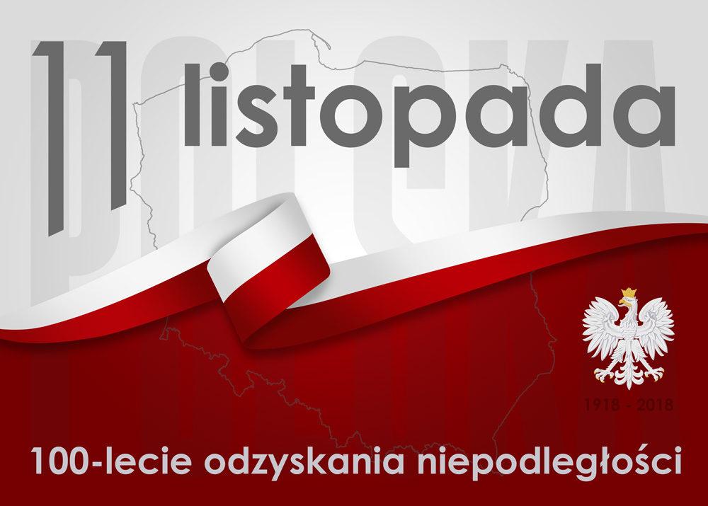 100 Lecie Odzyskania Niepodległości Przez Polskę Plakat