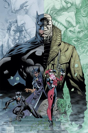 Batman Hush - plakat