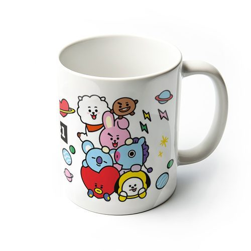 BT21 Characters Stack - kubek