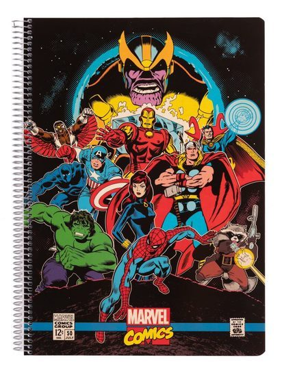 Marvel Comics Avengers - notes A4
