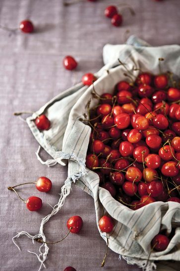 Basket of Cherries - plakat