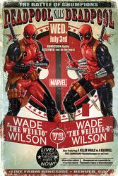 Deadpool (Wade vs Wade) - plakat