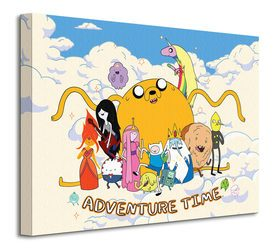 Adventure Time - Cloud - Obraz na płótnie