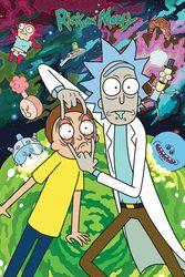 Rick and Morty Watch - plakat z serialu