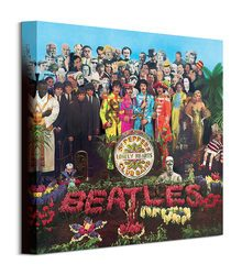 The Beatles Sgt. Pepper - obraz na płótnie