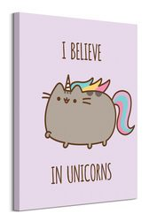 Pusheen (I Believe in Unicorns) - obraz na płótnie