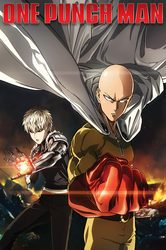 One Punch Man Destruction - plakat