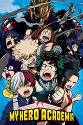 My Hero Academia Cobalt Blast Group - plakat