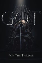 Game of Thrones Jon For The Throne - plakat