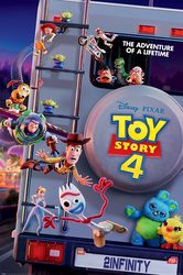 Toy Story 4 Adventure Of A Lifetime - plakat filmowy