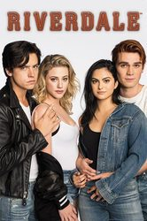 Riverdale Bughead and Varchie - plakat z serialu
