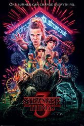 Stranger Things Summer of 85 - plakat filmowy