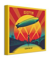 Led Zeppelin Celebration Day - obraz na płótnie