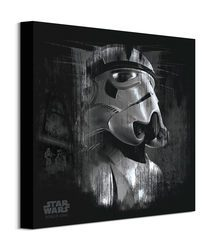 Star Wars Rogue One Stormtrooper Black - obraz na płótnie
