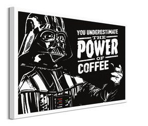 Star Wars The Power Of Coffee - obraz na płótnie