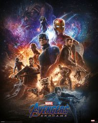 Avengers Endgame From the Ashes - plakat filmowy