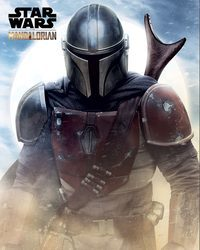 Star Wars The Mandalorian - plakat filmowy