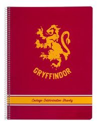 Harry Potter Gryffindor - notes A4, zeszyt na notatki