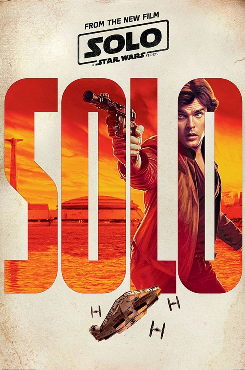 Han Solo Movie Plakat Kinowy